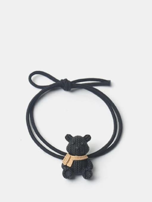 JoChic Alloy Cute Bear  Hair Rope 2