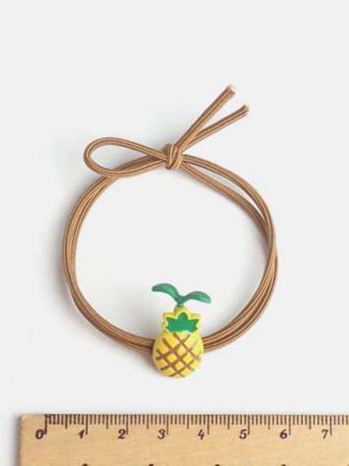 JoChic Cute Long Grass Radish Long Grass Pineapple Hair Rope 1