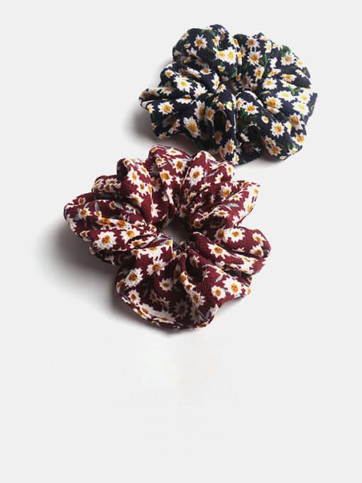 JoChic Fabric Minimalist Flower Hair Barrette