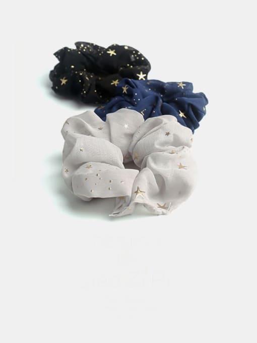 JoChic Fabric Minimalist Star Hair Barrette 1
