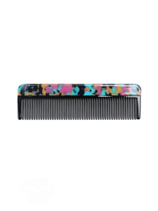 Dazzling color Cellulose Acetate Minimalist Multi Color Hair Comb