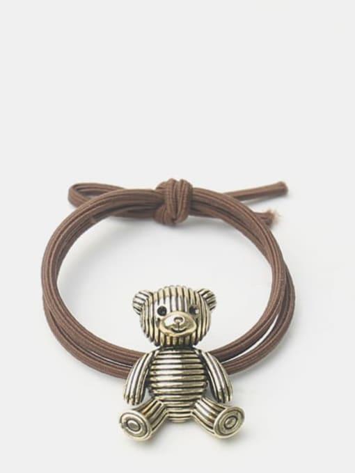 Little bear Alloy Little Bear Hair Rope