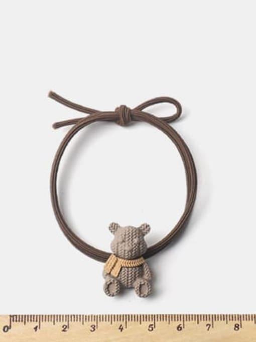 JoChic Alloy Cute Bear  Hair Rope 1