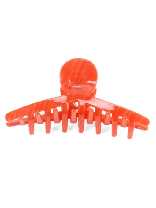 BUENA Cellulose Acetate Minimalist Irregular Jaw Hair Claw 1
