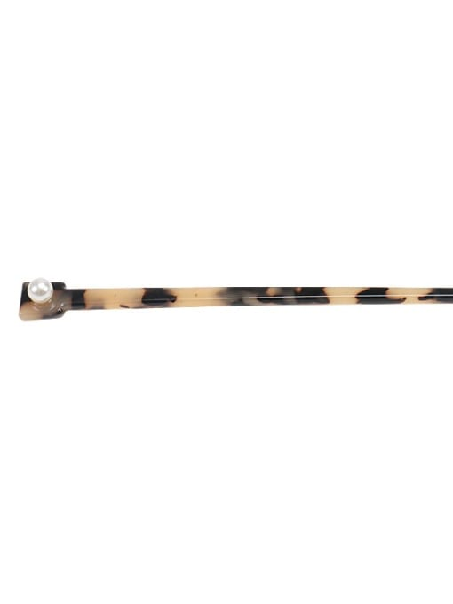 BUENA Cellulose Acetate Minimalist Multi Color Hair Stick 3