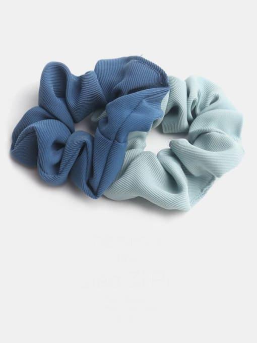 JoChic Minimalist  Fabric Hair Barrette 4