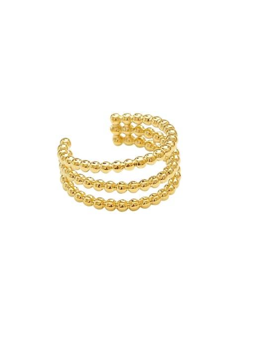 HYACINTH Copper Alloy Minimalist Clip Earring 3