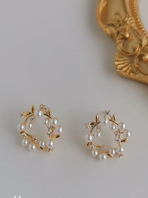 HYACINTH Copper Alloy Geometric Dainty Earring 0