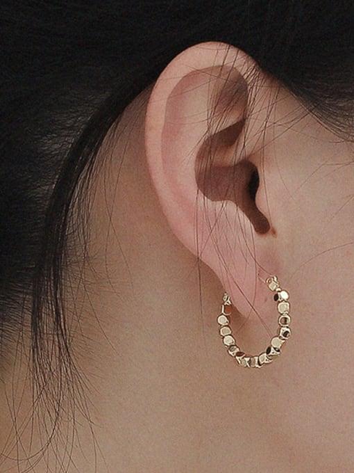 HYACINTH Copper Alloy Geometric Earring 0