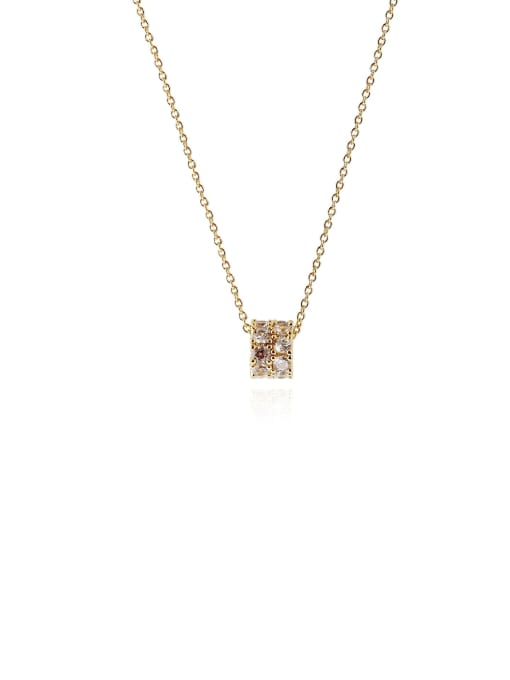 HYACINTH Copper Alloy Locket Dainty Necklace 3