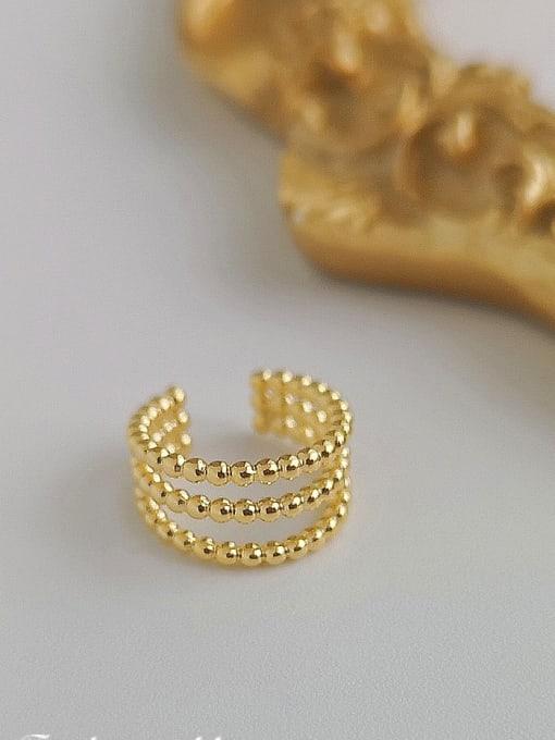 HYACINTH Copper Alloy Minimalist Clip Earring 0