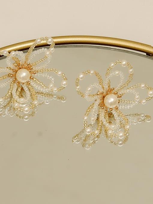 HYACINTH Copper Alloy Flower Dainty Earring 3