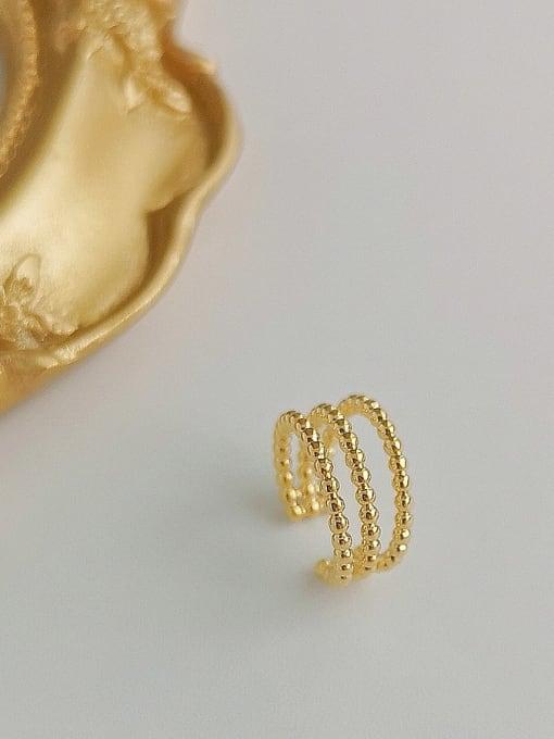 HYACINTH Copper Alloy Minimalist Clip Earring 2