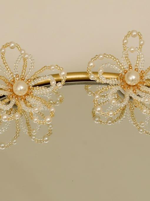 14k Gold Plating Copper Alloy Flower Dainty Earring