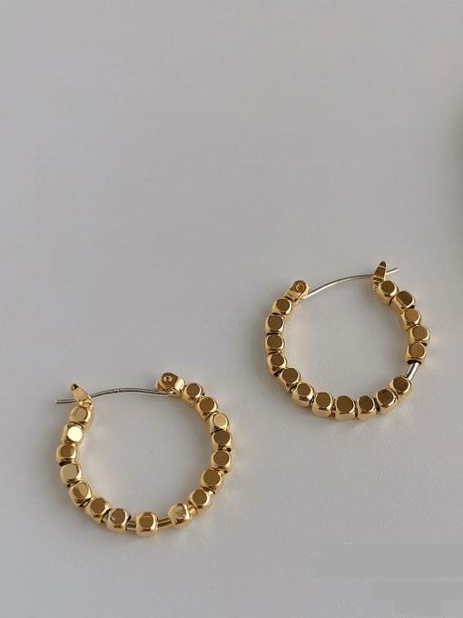 HYACINTH Copper Alloy Geometric Earring 1