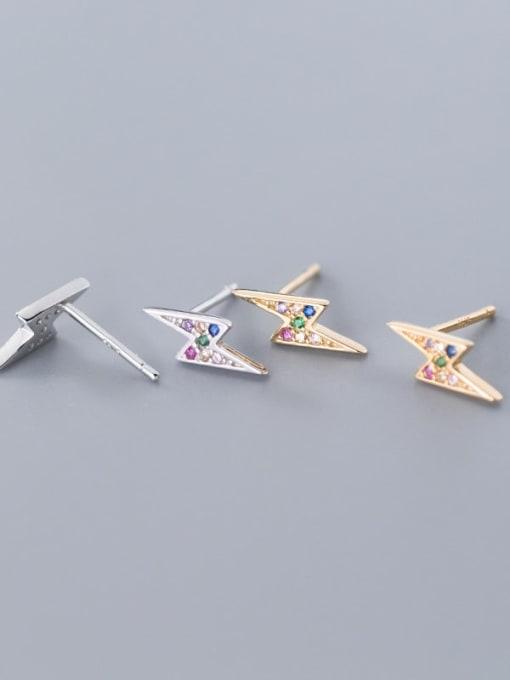 Rosh 925 Sterling Silver Dainty Stud Earring 0