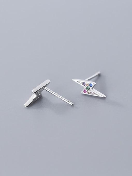 Rosh 925 Sterling Silver Dainty Stud Earring 2