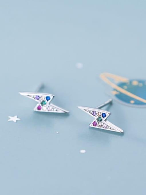 Rosh 925 Sterling Silver Dainty Stud Earring 4
