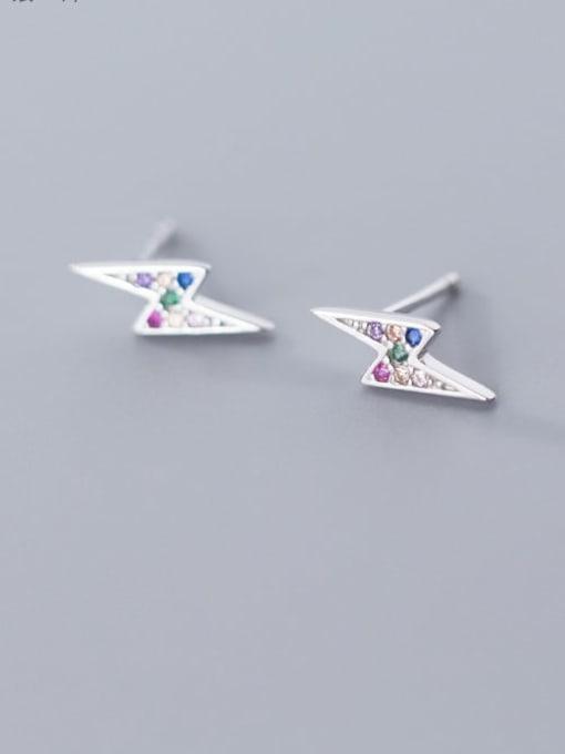 Rosh 925 Sterling Silver Dainty Stud Earring 1
