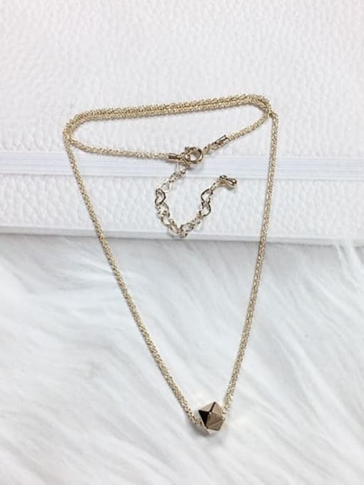 KEVIN Brass Irregular Trend Necklace 0