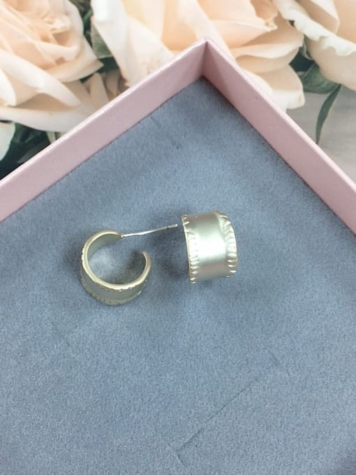 KEVIN Brass Irregular Dainty Stud Earring