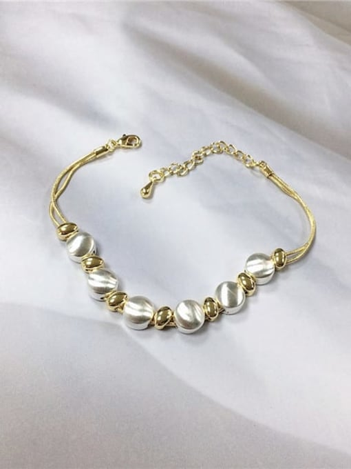 KEVIN Zinc Alloy Irregular Trend Link Bracelet