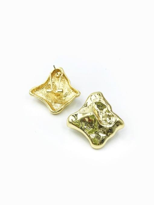 VIENNOIS Zinc Alloy Irregular Minimalist Clip Earring 0