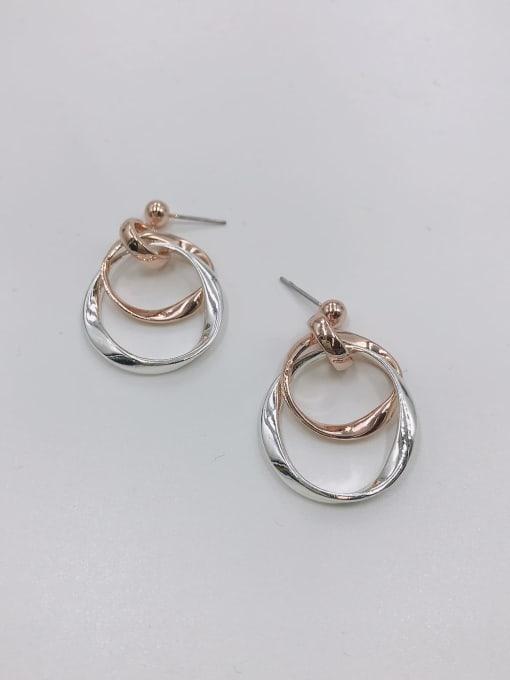 VIENNOIS Zinc Alloy Irregular Minimalist Drop Earring 0