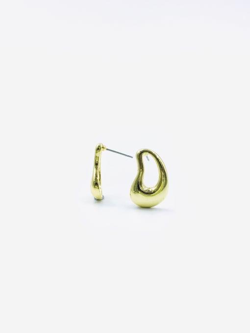 VIENNOIS Zinc Alloy Irregular Minimalist Stud Earring