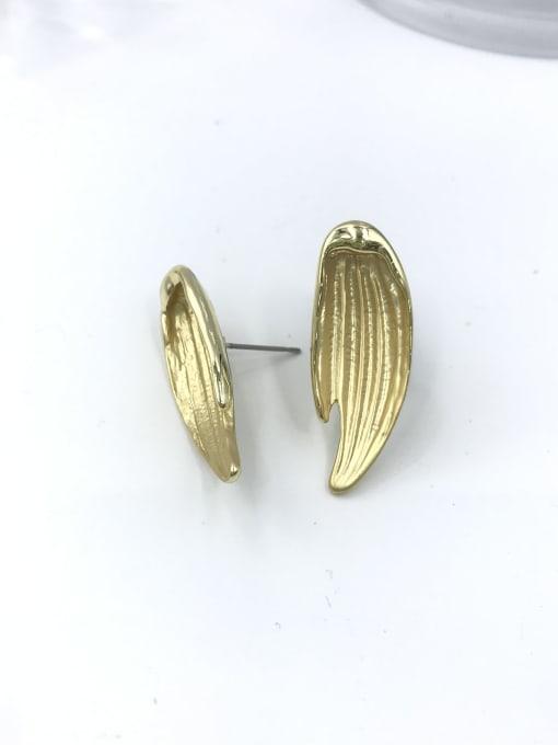 VIENNOIS Zinc Alloy Wing Trend Stud Earring