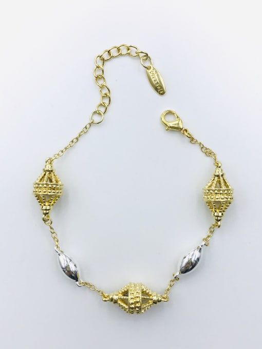 Multi Zinc Alloy Irregular Bracelet