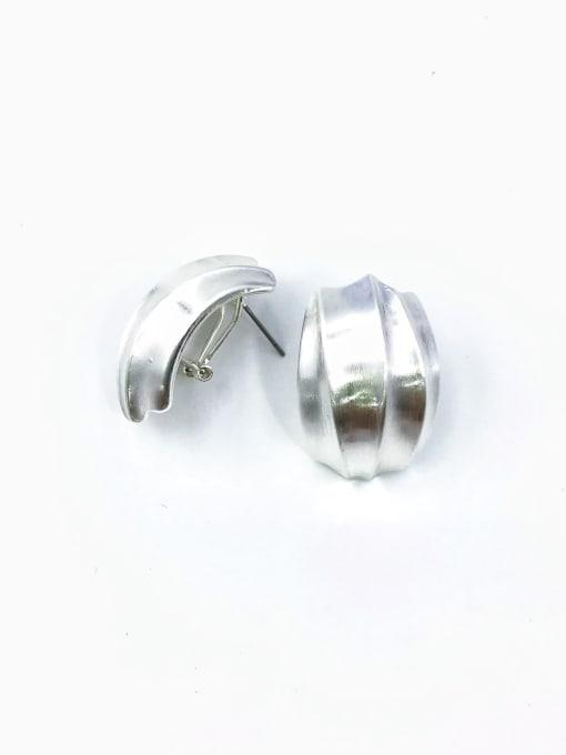VIENNOIS Zinc Alloy Irregular Minimalist Clip Earring 1