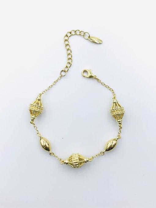 Gold Zinc Alloy Irregular Bracelet