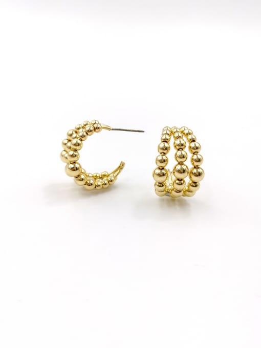 VIENNOIS Zinc Alloy Hook Classic Stud Earring